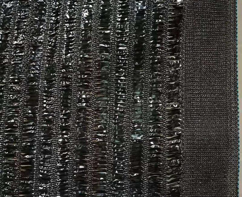 山东平织厚边95%大棚遮阳网
